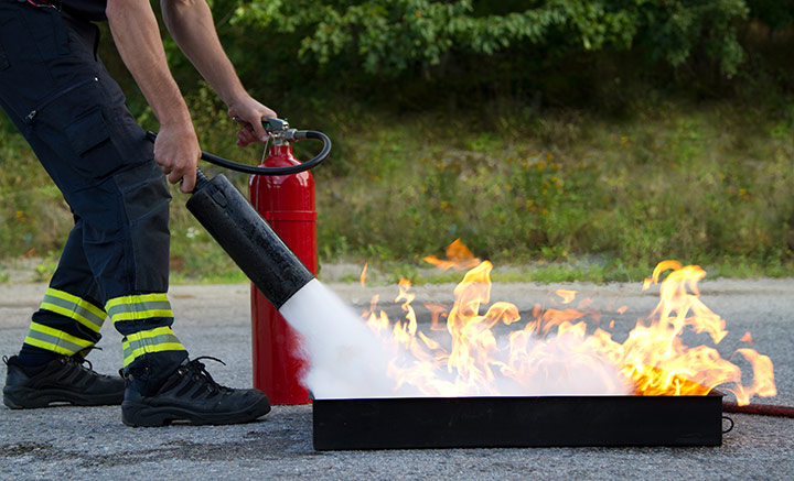 RFID pour le maintien en condition des équipements des pompiers