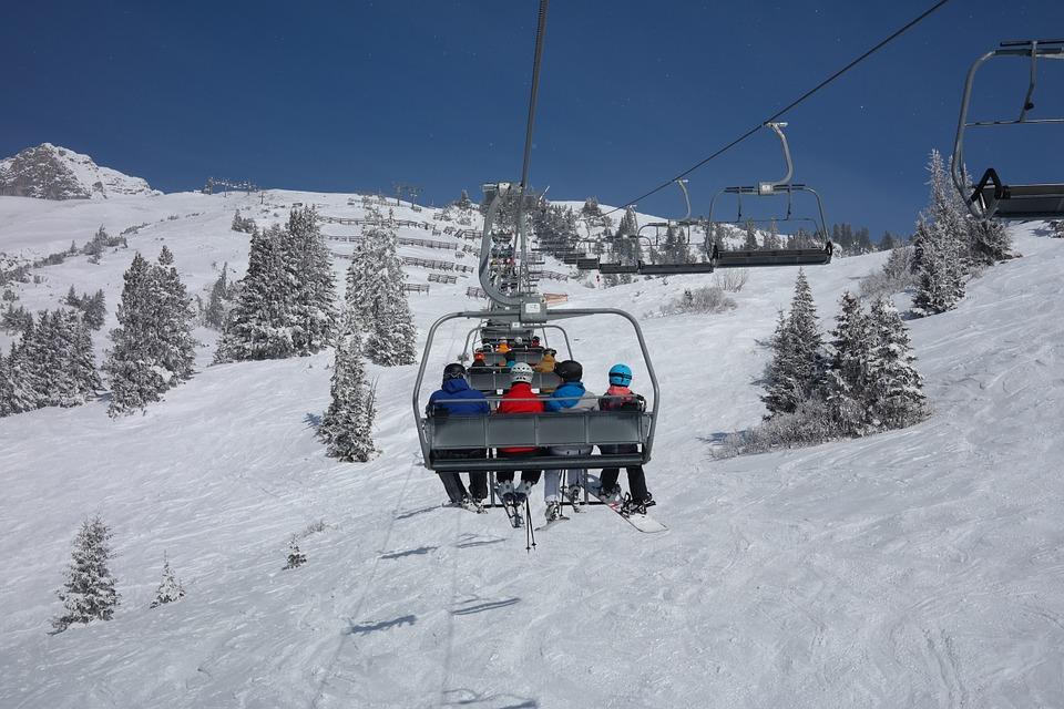 Forfait de remontées de ski RFID