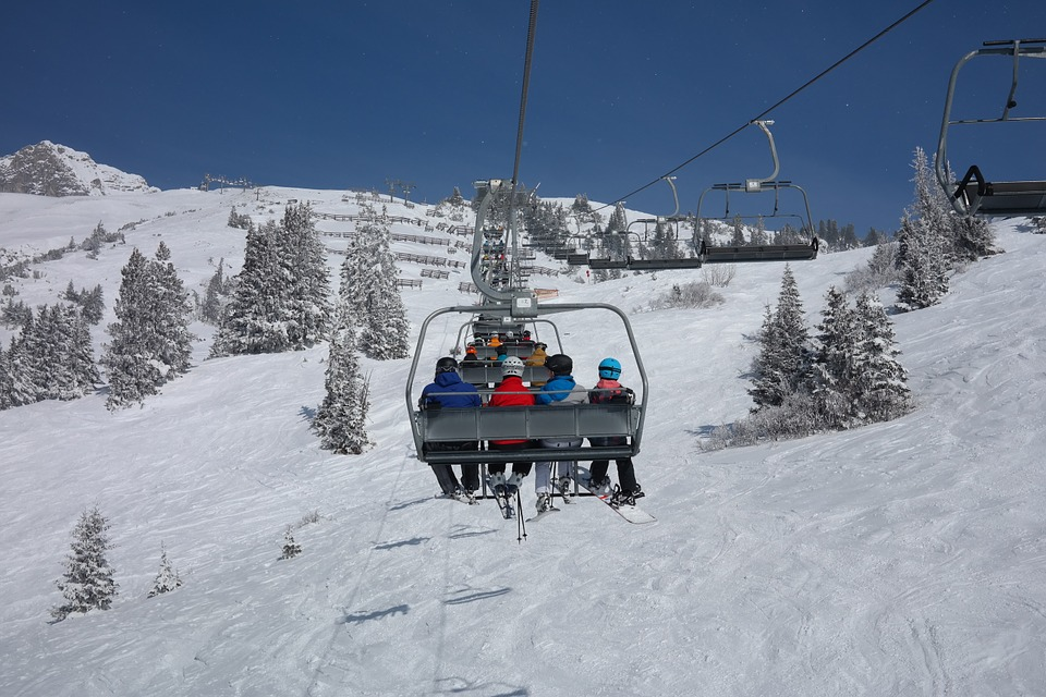 RFID ski passes