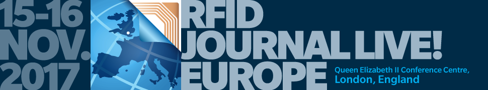 We will be exhibiting at RFID Live! Europe in November 2017