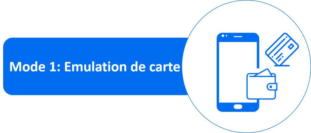 NFC mode émulation de cartes
